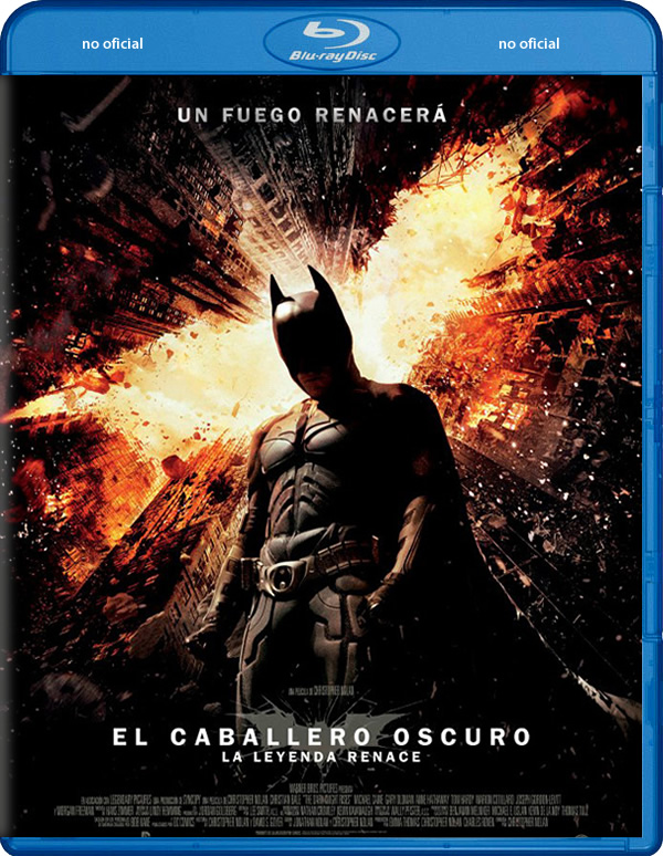 El Caballero Oscuro: La leyenda renace Blu-Ray
