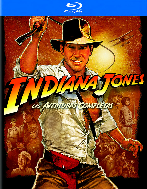 Indiana Jones: La Colecci�n Completa Blu-Ray