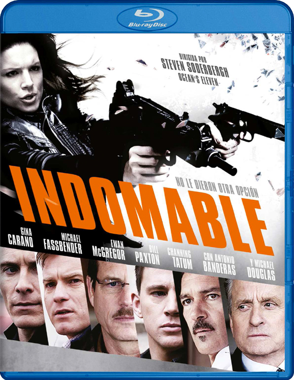 Indomable Blu-Ray
