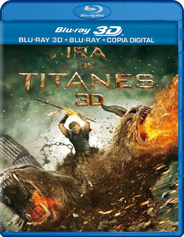 Ira de titanes 3D (incluye versin 2D) Blu-Ray