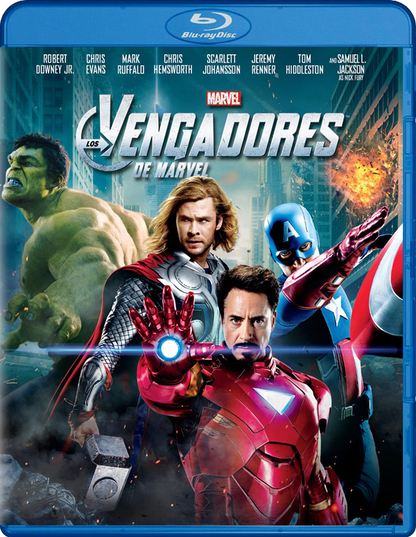 Los Vengadores Blu-Ray