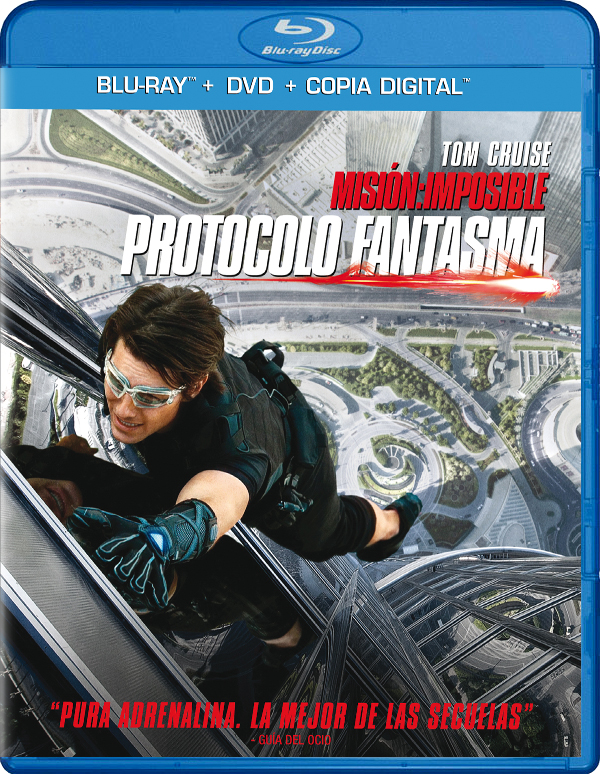 Misin Imposible 4: Protocolo Fantasma Blu-Ray